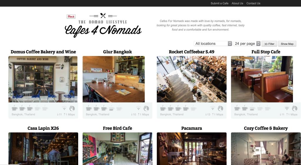 Cafes4Nomads