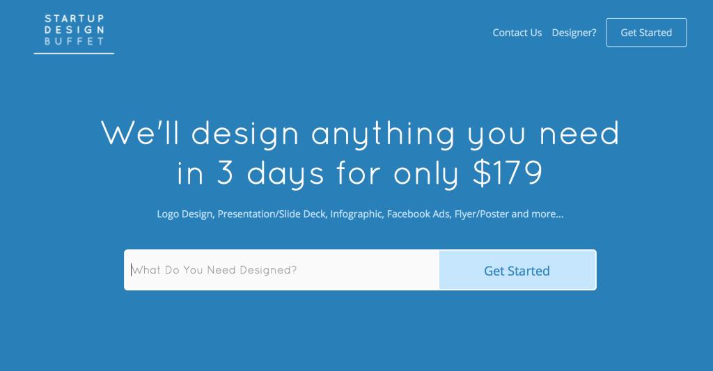 Startup Design Buffet